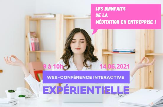 les bienfaits de la méditation web conference