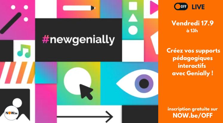 OFF : Creez vos supports pédagogiques et interactifs avec Genially